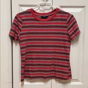 Forever 21 red striped t-shirt ❤️